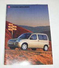 Prospekt/folleto citroen berlingo-Stand 2006!