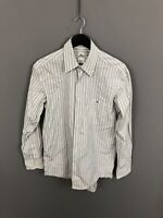 LACOSTE Shirt - Size Medium - Striped - Great Condition - Men's