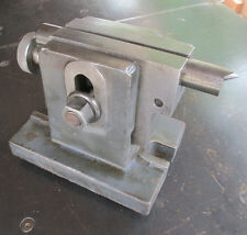 """ADJUSTABLE 5.5"""" to 6.5"""" TAILSTOCK FOR ROTARY TABLE INDEXER SPIN FIXTURE - NICE!"""