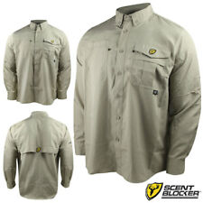 Scent Blocker Recon Outfitter L/S Shirt (XL)- Stone
