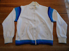 Vintage Head Tennis Jacket Coat White Blue Large ?