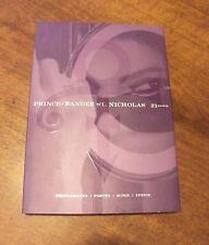 PRINCE Randee St. Nicholas 21 nights HB slip cover +CD 2008