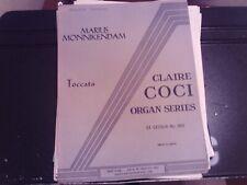 Marius Monnikendam: Toccata, organ (Gray)