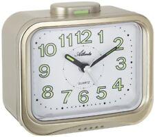 Réveils et radios-réveils analogiques jaunes pour la chambre