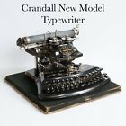 *WORKS* CRANDALL NEW MODEL TYPEWRITER W/ ACCESSORIES *VIDEO*