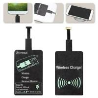 Universal Qi Wireless Charger Receiver Charging Adapter S9C7 Pad For Androi X0H8