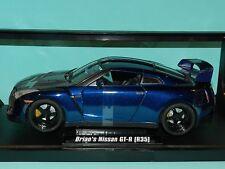 Jada 1/18 Fast & Furious Brian's Nissan GT-R (R35) Furious 7 MiB