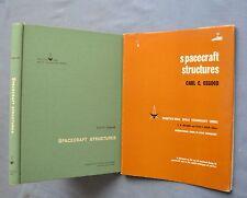 SPACECRAFT STRUCTURES: CARL C. OSGOOD 1966 HC/DJ