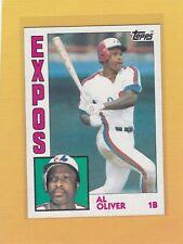 1984 TOPPS BASEBALL AL OLIVER #620 EXPOS NMMT/MINT *64174