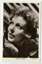 (Ld1063-462) RP, Actress Loretta Young, Unused VG-EX