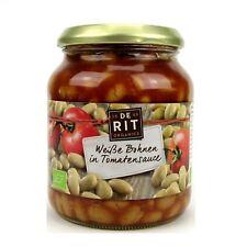(5,25 EUR/kg) De Rit Weiße Bohnen in Tomatensoße bio 360 g