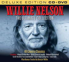 Willie Nelson The Ultimate Collection Set (Deluxe Edition CD & all region DVD)