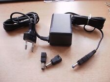 18 volt 660ma European wall charger with polarity reversal + 3 plugs SWD18 Z455