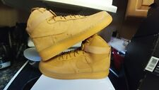 Nike Air Force 1 AF1 07 HIGH LV8 Wheat Flax Sz 14 806403-200 jordan i lunar boot