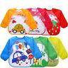 Baby Boy Girl Kids Bibs Waterproof Saliva Towel Cartoon Bib Burp Feeding Bandana