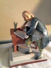 """Norman Rockwell By Gorham-Rw15 """"Independence"""" May 26,1926-Full Size Figurine"""