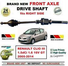 Per Renault Clio III 1.5 DCI 1.6 16V Gt 2005-2014 Nuovo Asse Ant Dx Albero