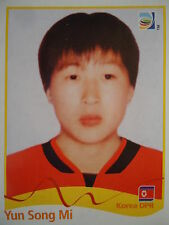 Panini 204 Yun Song Mi Korea DPR FIFA Women's WM 2011 Germany