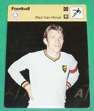 FOOTBALL BELGIQUE BELGIË DIABLES ROUGES PAUL VAN HIMST ANDERLECHT RWD MOLENBEEK