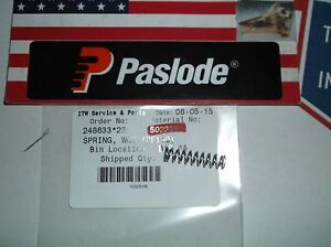 Paslode Part # 502328  SPRING, WCE (PF150)