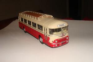 autobus CHAUSSON APU 52 NOREV ORIGINAL ROUGE