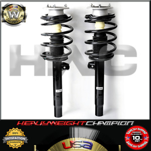FRONT QUICK STRUT SPRING SHOCK PAIR FOR BME E46 320 323 325 328 330