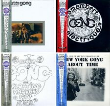 Gong Japon MINI LP 4 20 BITK 2-cd Set still sealed (Daevid Allen-GILLI Smyth)