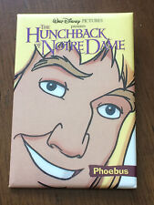 Disney DLR The Hunchback of Notre Dame - Phoebus Button Pin