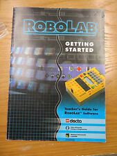 Lego Dacta RoboLab Teacher's Guide for Robolab Software 1998 2000052