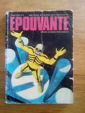 EDITIONS ELISA BD ADULTE N°2 EPOUVANTE 1974