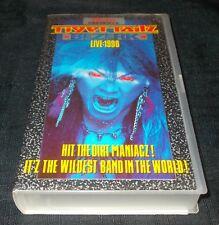 TIGERTAILZ - BEZERK LIVE 1990 (RARE ORIGINAL FOTODISK VHS VIDEO CASSETTE)
