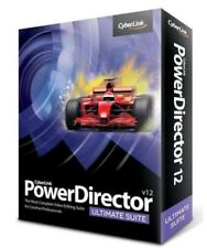 Cyberlink PowerDirector 12 Ultimate DVD Video Editing Software: New