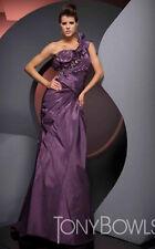 **SUPER SALE** Tony Bowls Evenings Prom Dress TBE21025 Purple Size 6 NWT