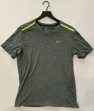 Mens Nike Tri Fit Basic V Neck Tee Green Size medium