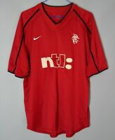 GLASGOW RANGERS SCOTLAND 2001 2002 THIRD FOOTBALL SHIRT JERSEY NIKE SIZE L