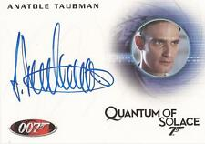 "James Bond Mission Logs - A148 Anatole Taubman ""Elvis"" Auto/Autograph"