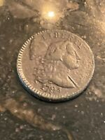 1794 Flowing Hair Large Cent Coin 1C - Head of '94 Nice Features