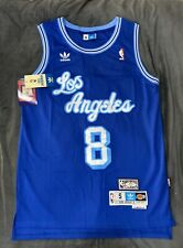 NWT Kobe Bryant Jersey Hollywood blue ADIDAS RARE Edition With Kobe Name Tags
