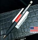 Parker Frontier BP Black & Red Marble Resin 23kt GT | USA | Black Gel RARE & BOX