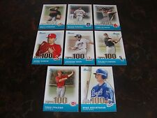 2010 Bowman Baseball---Top 100 Prospects---Lot Of 8---See List