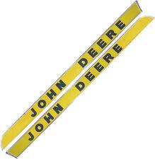 AR28048 Side Molding Set Raised Letter for John Deere 1010 2010 3010 ++ Tractors