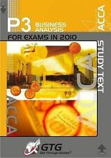 ACCA - P3 Business Analysis: Study Text by Get Through Guides (Paperback, 2009)