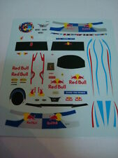 SEBASTIAN VETTEL F1 WORLD CHAMPION 2010 1/18 SCALA DECALS FIGURE