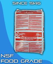 Sodium Metabisulfite 50 lb Food Grade NSF Photograde Sterilant
