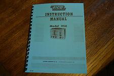 Eico 324 RF Signal Generator Operators Manual Reprint