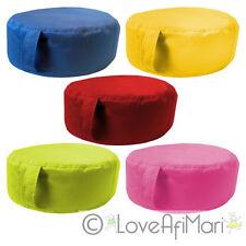 5 Wipe Clean Childrens Kids Circle Bean Bag Cushion Beanbag School Nursery Play