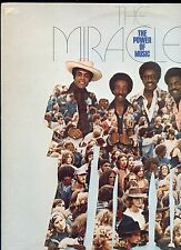 THE MIRACLES the power of music US EX LP 1976