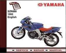 Yamaha SZR660 SZR 660 1995 Workshop Service Repair Manual