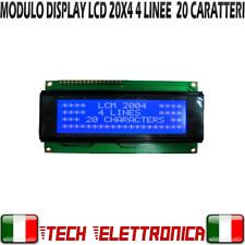 Display BLU 20x4 lcd retroilluminato HD44780 arduino pic