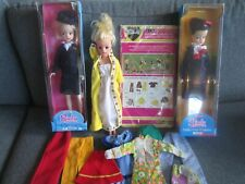 VINTAGE SINDY DOLLS WITH CLOTHES